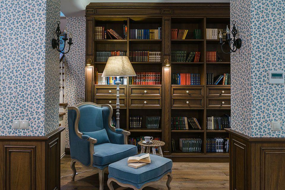 Декорирование книжных шкафов