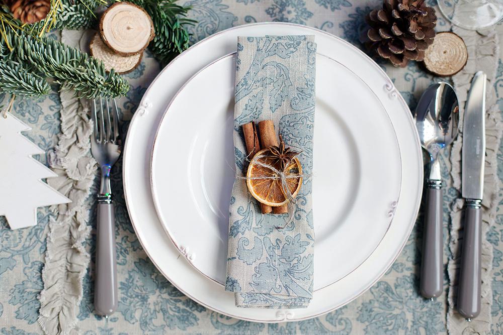 3 идеи для сервировки новогоднего стола
